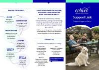 Enliven SupportLink Community Service Brochure