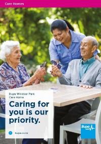 Windsor Park Care Home Brochure