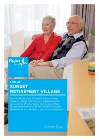 Life At Sunset Brochure