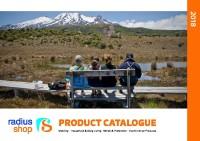 Radius Shop Product Catalogue 2018