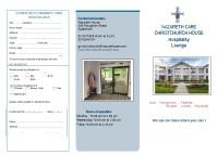 Hospitality Lounge Brochure
