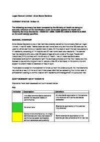 MOH Audit Report