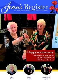 Jean's Register Summer 2019 newsletter