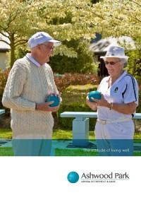 Ashwood Park Sales Brochure