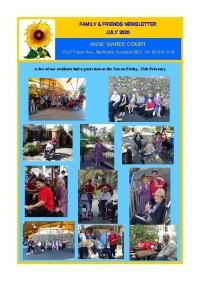 Family Newsletter July 2020
