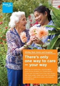 Whitby Care Home Brochure