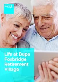 Bupa Foxbridge Retirement Village Brochure