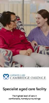 Ultimate Care Cambridge Oakdale Brochure