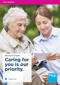 Maidstone Hospital Brochure