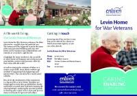 Levin Home for War Veterans